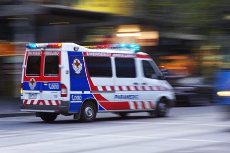 Ambulance, Melbourne, Victoria, Australia
